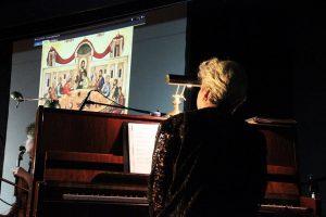 Στεφ Κουλούρι - πιανίστα για Amberlink Ensemble